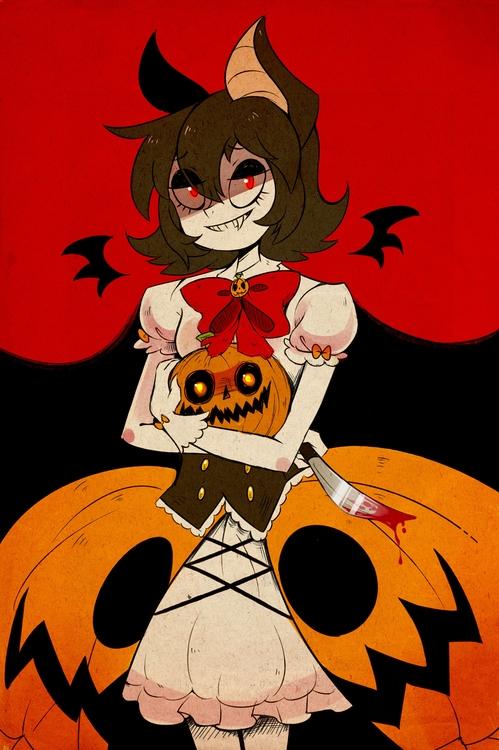 pumpkin maiden, Olivia - pumpkins - princessmisery   ello