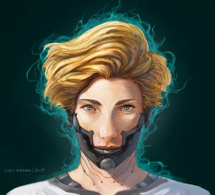 prosthesis, illustration, painting - qci | ello
