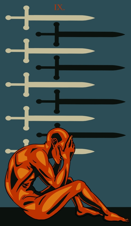 Swords - illustration, tarot - wingywonky-5811 | ello
