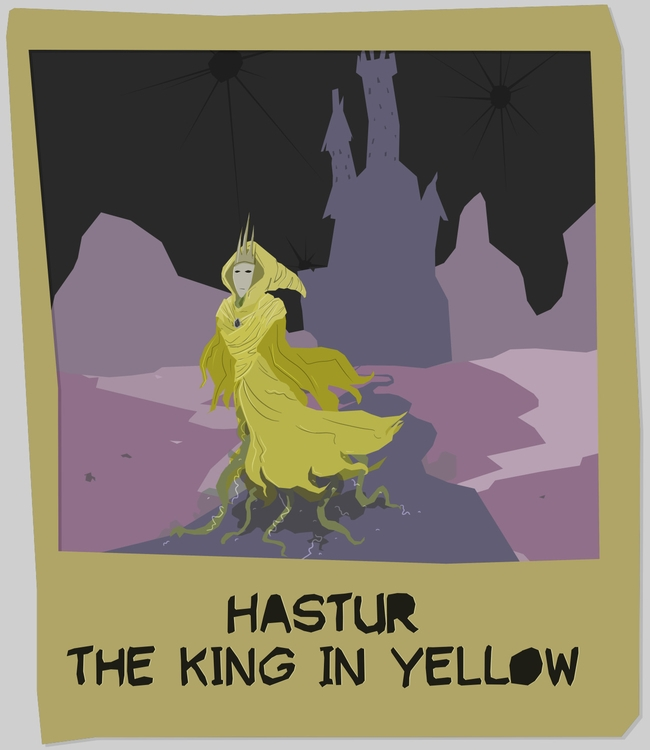 Hastur, King Yellow - hastur, thekinginyellow - odddino | ello