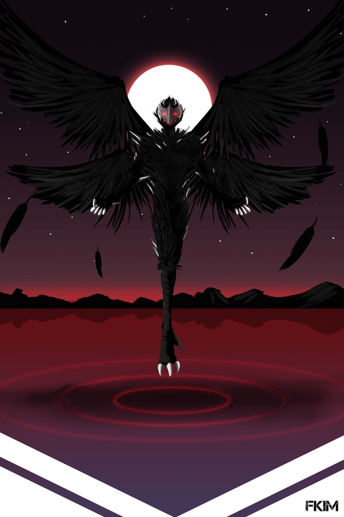 Grimm Harpy - illustration, characterdesign - fkim90 | ello