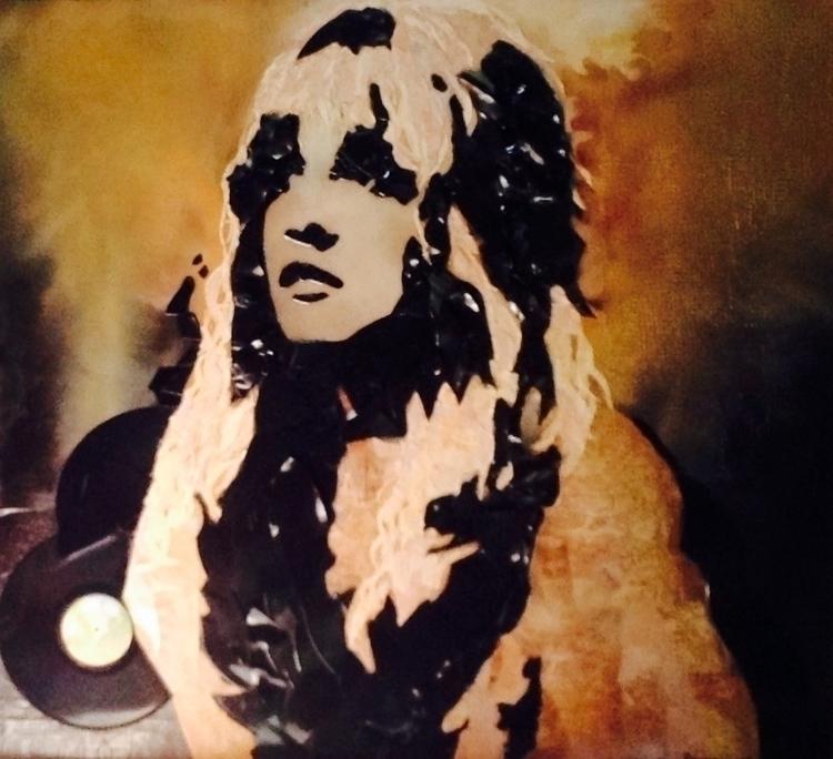 Gypsy - painting, Stevienicks, mixedmedia - lorilove | ello