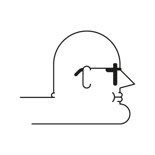 Bald - face, illustrator, vector - deividsaenz | ello
