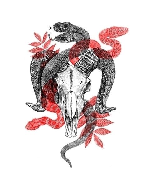 Ghosts residual spirits - illustration - polkip | ello