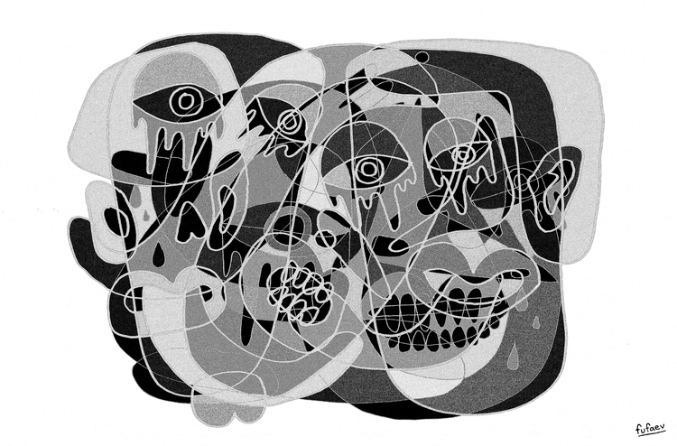 illustration, painting, drawing - nickerfe   ello