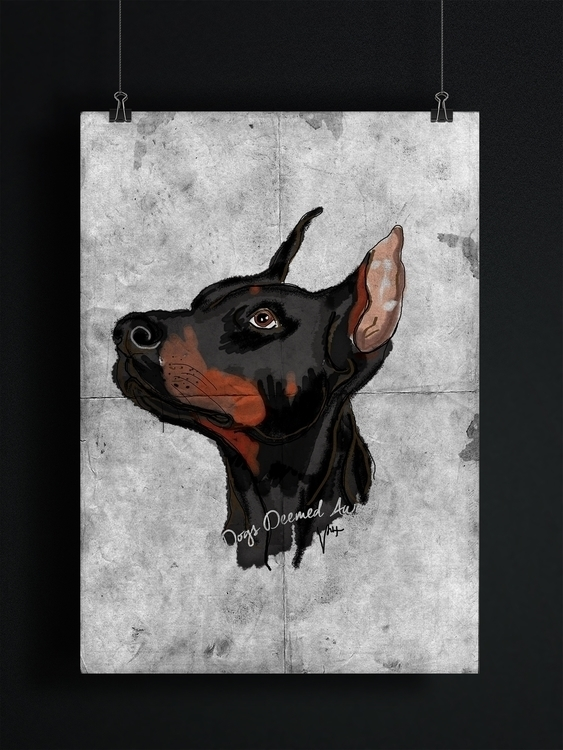 Dogs Deemed Awesome - Doberman - nessawvera | ello