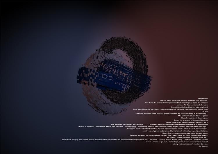 conceptart, poem, haiku, underground - santicp | ello