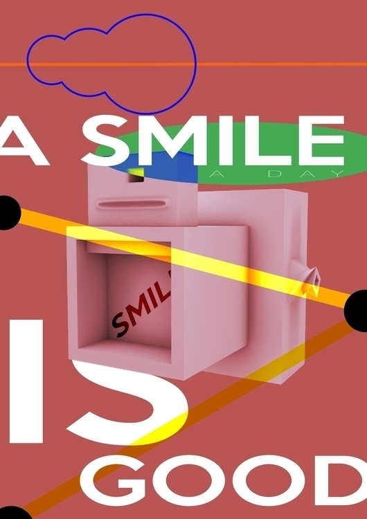 smile, photography, 3d, concept - santicp | ello