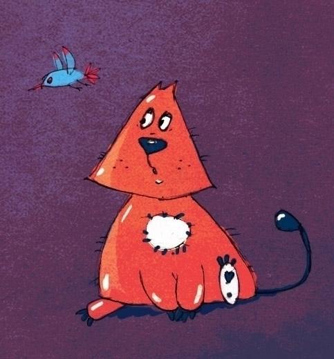Kitty - cartoon, cat, character - katerikart | ello