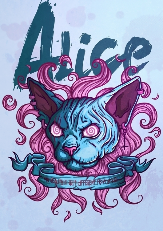 ALICE - illustration, painting, characterdesign - benben-9748 | ello