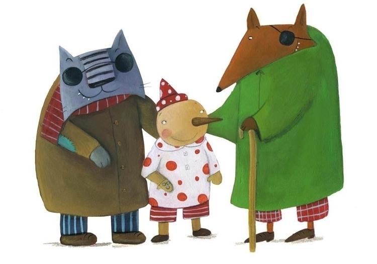 Pinocchio - illustration, children'sillustration - francescaassirelli | ello