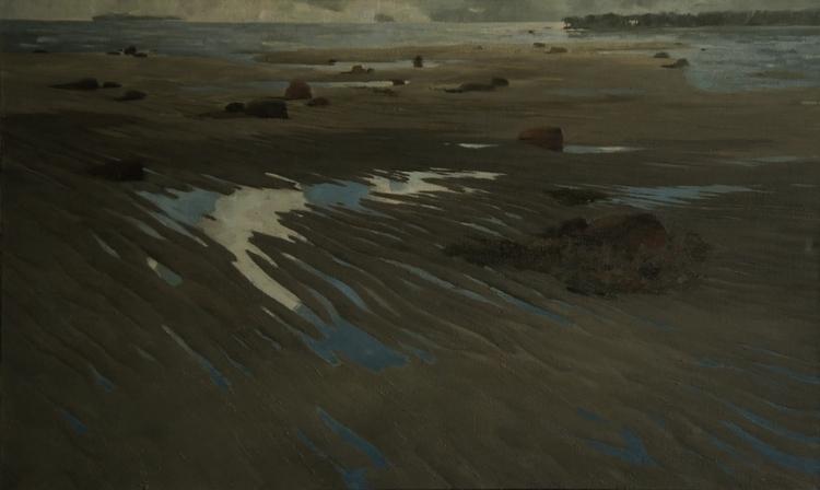 high tide, 90-150cm, oil canvas - aleksei-4241 | ello