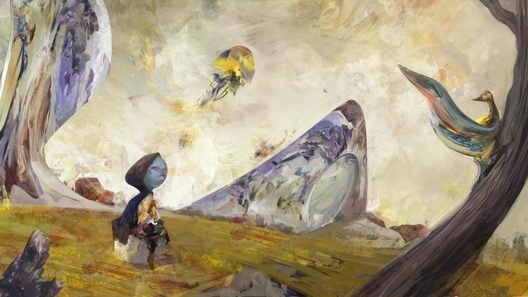 Otherworldly experiment - jellyfish - ricardcendra | ello