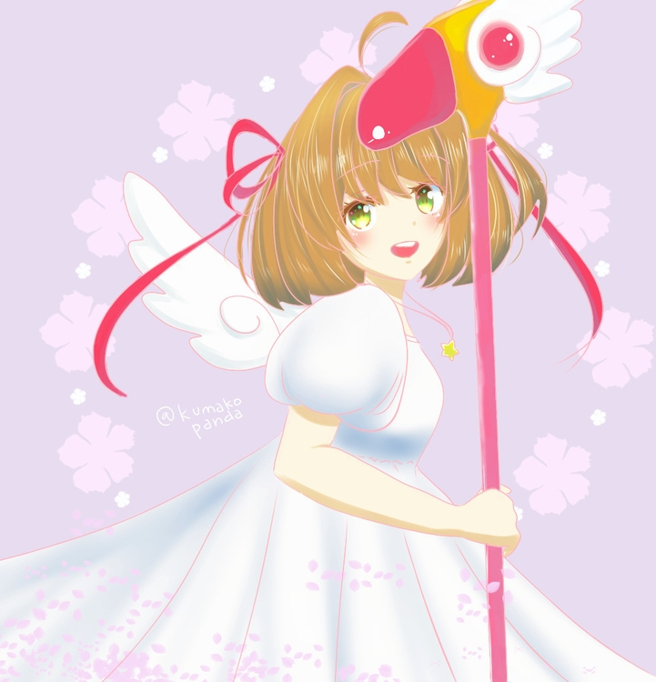 Tenshi Cardcaptor Sakura - illustration - khayezapatero | ello