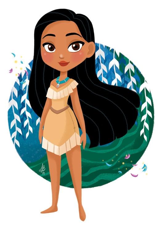 Princess Pocahontas Pocahontas - inesbarros | ello