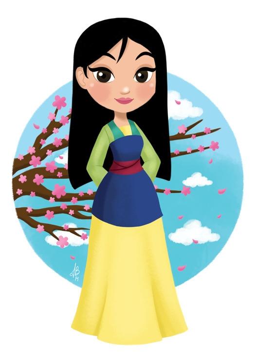 Princess Mulan Mulan - mulan, disney - inesbarros | ello