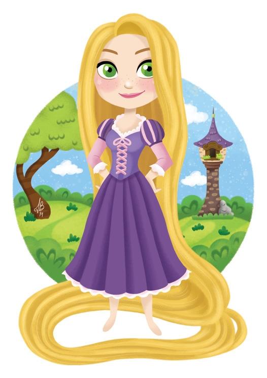 Princess Rapunzel Tangled - tangled - inesbarros | ello