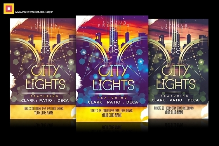 City Lights Party Flyer - citylightspartyflyer - satgur | ello