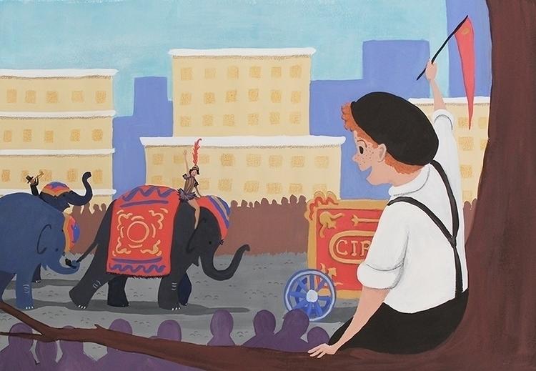 Circus Parade - children'sillustration - beth-6270 | ello