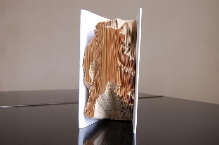 book, art, craft, modelling, paperart - santicp | ello