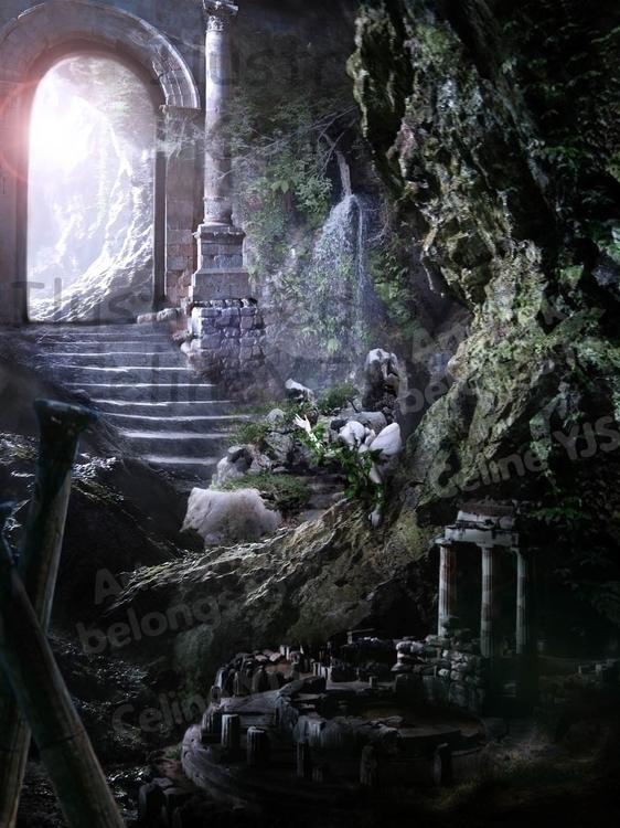 Digital Imaging - Ruins. cave s - celineyjs | ello