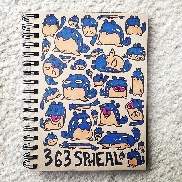 Spheal - pokemon, spheal, sketch - carolinedirector | ello