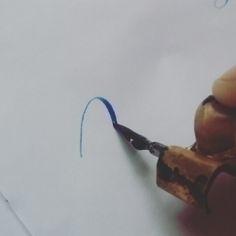action - calligraphy, lettering - aneelarashid | ello