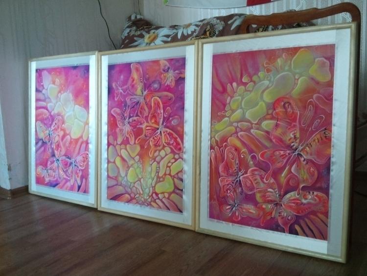 painting, pivtorak, textiledesign - victorovna | ello