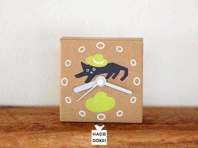small handmade clock corrugated - guraguri   ello