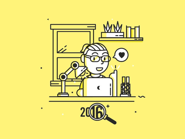 Happy Year Illustration - illustration - antoniuskhengdro | ello