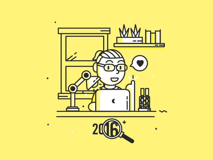 Happy Year Illustration - illustration - antoniuskhengdro | ello