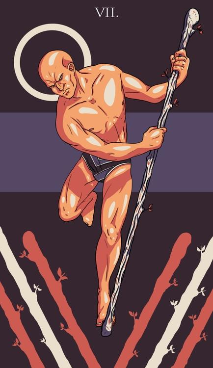 Wands - illustration, tarot - wingywonky-5811 | ello