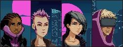 Portraits cancelled cyberpunk g - leafthief | ello