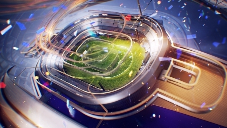 'Sport 1 HD' channel styleframe - tvconcept | ello