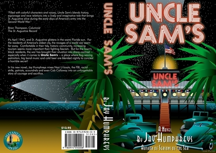 Book Cover - Uncle - illustration - mrgaric | ello
