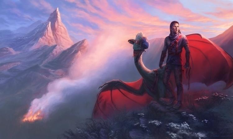Liran dragon Quelatac, personal - sasharjones | ello