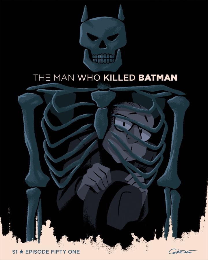 poster Episode 51 Batman Animat - caltsoudas | ello