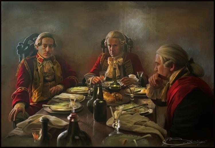 dining table - painting, photography - s2prambudi | ello