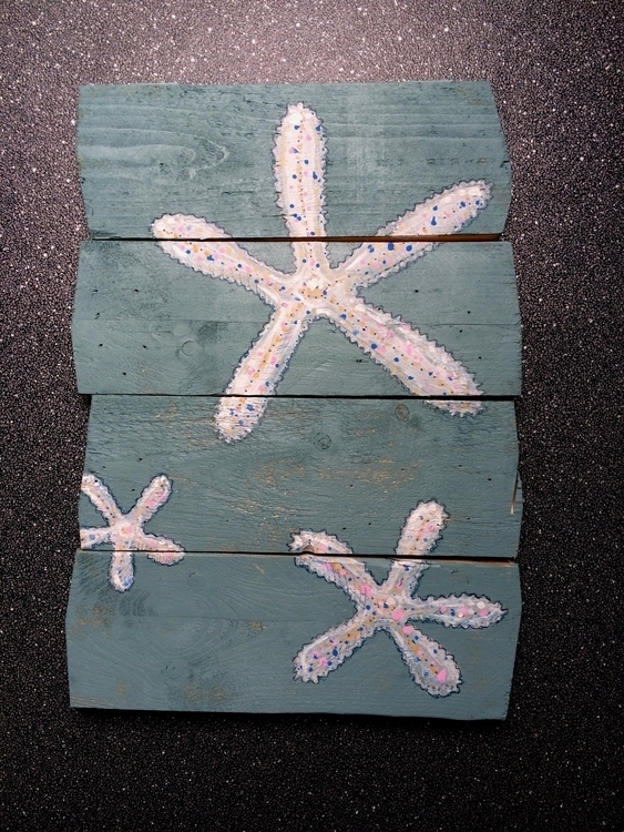 Painting wood - painting, sea - rutgervandeelen | ello