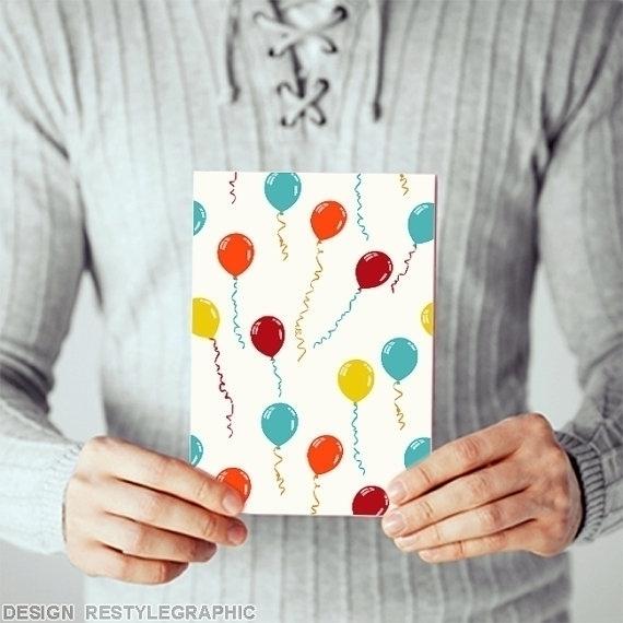 Party greeting card - illustration - yaviki | ello