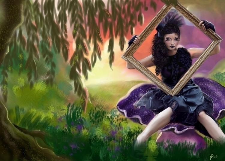 Living painting - Art contest C - nadezhdapetrova | ello