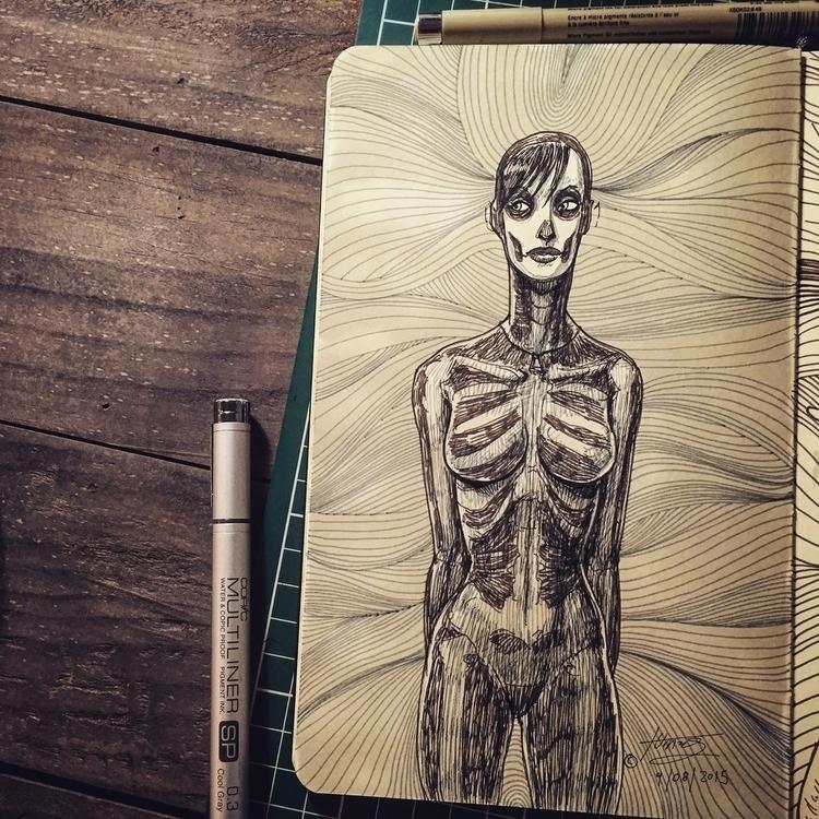 Doodle day, designing Death ill - mrflama | ello