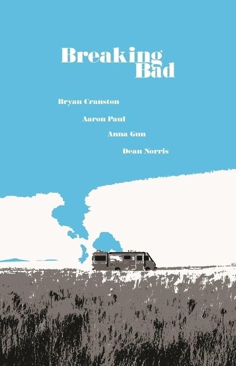 Breaking Bad Poster university  - rabbott-8438 | ello