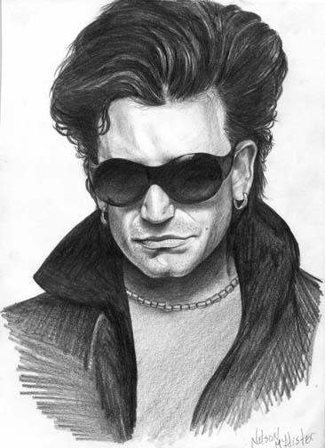Bono - portrait - maryann-6495   ello