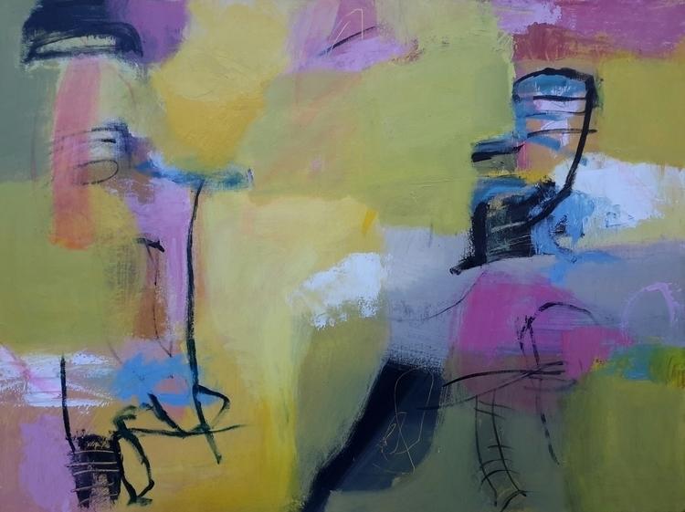 Angel Tutu - painting, Acrylic, Original - dawnlim | ello