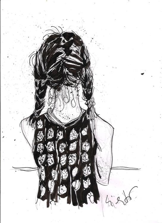 Paloma - drawing, ink, penink - luisliendo | ello