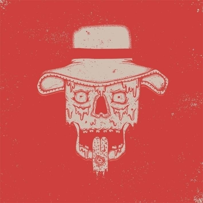 skull, illustration, micronpen - carlie-4924 | ello