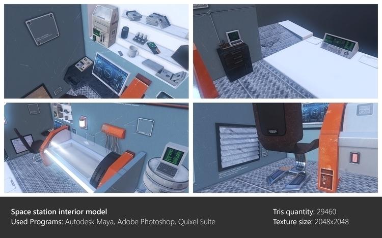 Interior model - environment, 3dart - ghostb | ello