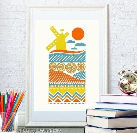 Kids art print - illustration, kids - yaviki | ello