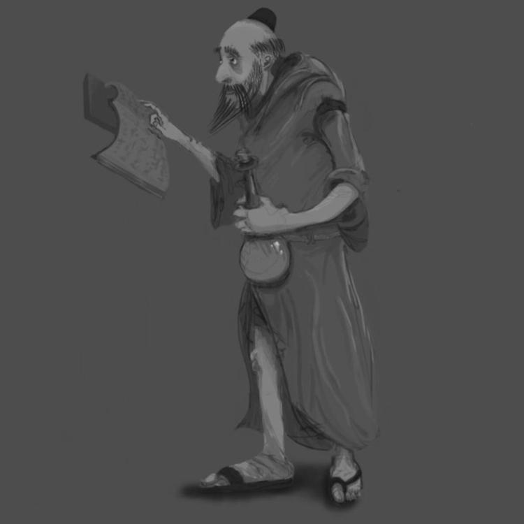 sketch, 2dart, alchemist - ghostb | ello